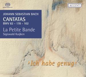 CD Shop - BACH, J.S. Cantatas Vol.3-Ich Habe G