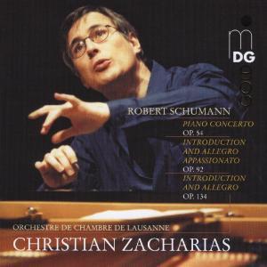 CD Shop - ZACHARIAS, CHRISTIAN SCHUMANN: KLAVIERKONZERT OP. 54