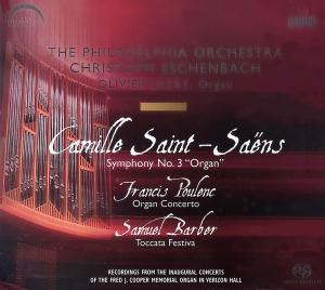 CD Shop - SAINT-SAENS/POULENC Symphony No.3/Organ Conce