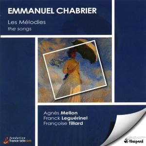 CD Shop - CHABRIER, E. MELODIES INTEGRALE/SONGS COMPLETE