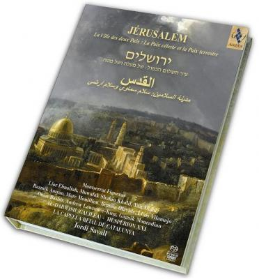 CD Shop - SAVALL/HESPERION/CAPELLA REIAL Jerusalem City of the Two Peaces
