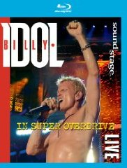 CD Shop - IDOL, BILLY IN SUPER OVERDRIVE LIVE