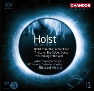 CD Shop - HOLST, G. Orchestral Works Vol.1