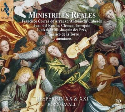 CD Shop - SAVALL, JORDI Ministriles Reales