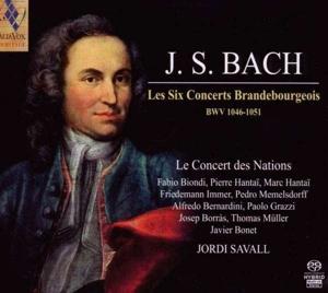 CD Shop - BACH, J.S. LES SIX CONCERTS BRANDEBOURGEOIS