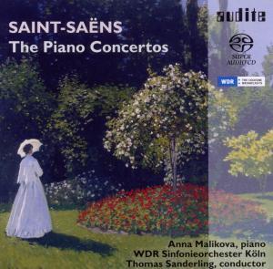 CD Shop - SAINT-SAENS, C. Piano Concertos