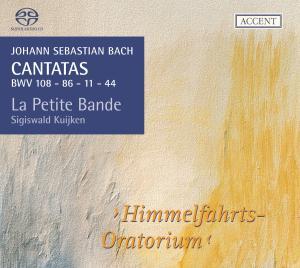 CD Shop - BACH, J.S. Cantatas Vol.10:Himmelfahrts-Oratorium