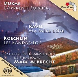 CD Shop - DUKAS/RAVEL/KOECHLIN Sorcereraes Apprentice Mother