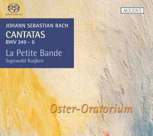 CD Shop - BACH, J.S. Cantatas Bwv249 (Oster Oratorium)