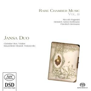 CD Shop - JANSA DUO Rare Chamber Music Vol.3