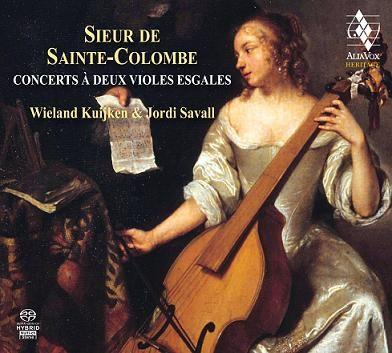 CD Shop - SAINTE-COLOMBE Concerts a Deux Violes Esgales
