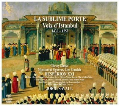 CD Shop - SAVALL, JORDI La Sublime Porte/Voix D