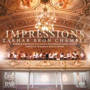 CD Shop - ZAKHAR BRON CHAMBER ORCHE IMPRESSIONS