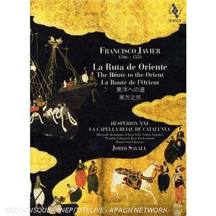 CD Shop - JAVIER, F. Route of the Orient