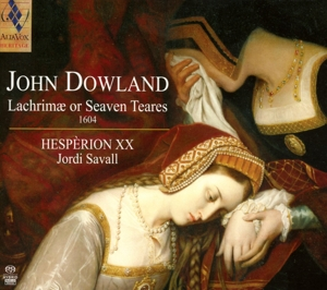 CD Shop - DOWLAND, J. LACHRIMAE OR SEVEN TEARES 1604