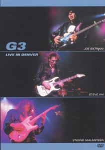CD Shop - SATRIANI/VAI/MALMSTEEN G3 LIVE IN DENVER