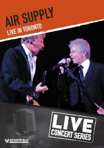 CD Shop - AIR SUPPLY LIVE IN TORONTO
