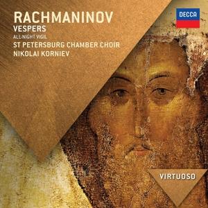 CD Shop - RACHMANINOV, S. VESPERS/OP.37