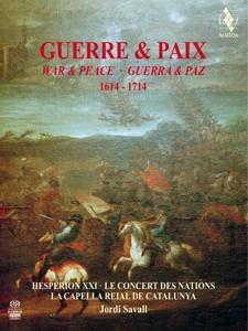 CD Shop - HESPERION XXI WAR & PEACE 1614-1714