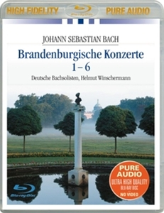 CD Shop - BACH, J.S. BRANDENBURGISCHE KONZERTE 1-6