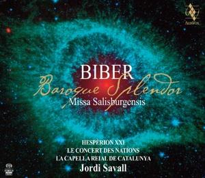 CD Shop - BIBER, H.I.F. VON MISSA SALISBURGENSIS