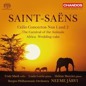 CD Shop - SAINT-SAENS, C. Cello Concertos