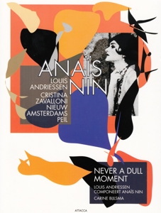 CD Shop - ANDRIESSEN, L. ANAIS NIN/NEVER A DULL MOMENT