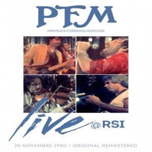 CD Shop - P.F.M. LIVE @ RSI