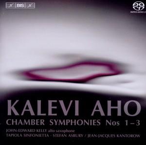 CD Shop - AHO, K. CHAMBER SYMPHONIES NO.1-3