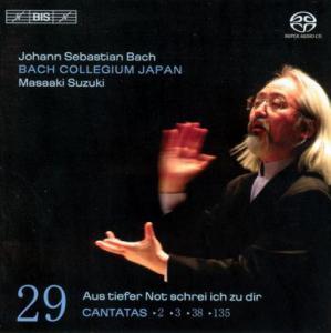 CD Shop - BACH, J.S. Cantatas Vol.29