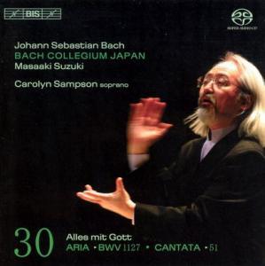 CD Shop - BACH, J.S. Cantatas Vol.30