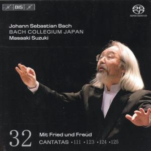 CD Shop - BACH, J.S. Cantatas Vol.32