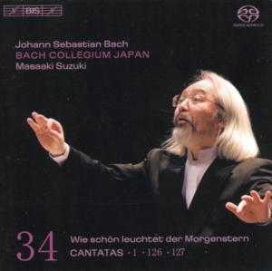 CD Shop - BACH, J.S. Cantatas Vol.34