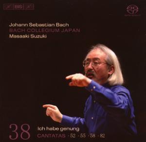 CD Shop - BACH, J.S. Cantatas Vol.38