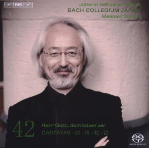 CD Shop - BACH, J.S. Cantatas Vol.42
