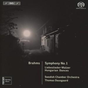 CD Shop - BRAHMS, J. SYMPHONY NO.1/LIEBESLIEDER-WALZER