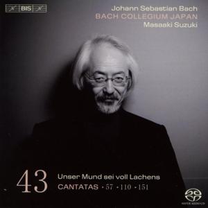 CD Shop - BACH, J.S. Cantatas Vol.43