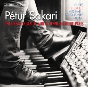 CD Shop - SAKARI, PETUR French Organ Music