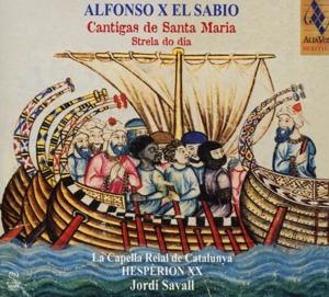 CD Shop - ALFONSO X -EL SABIO- CANTIGAS DE SANTA MARIA
