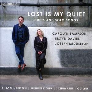 CD Shop - SAMPSON, CAROLYN Lost is My Quiet