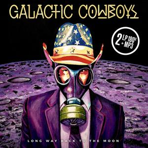 CD Shop - GALACTIC COWBOYS LONG WAY BACK TO THE MOON