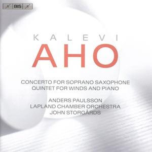 CD Shop - AHO, K. CONCERTO FOR SOPRANO SAXOPHONE/QUINTET FOR WINDS