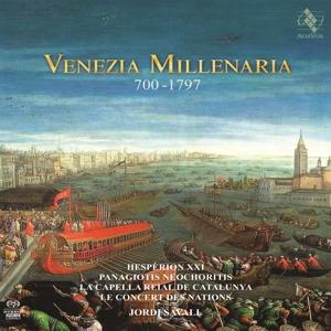 CD Shop - HESPERION XXI VENEZIA MILLENARIA 700-1797