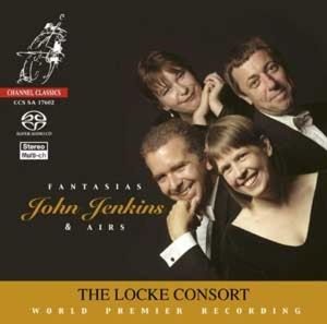 CD Shop - JENKINS, J. Fantasias & Airs -Sacd-