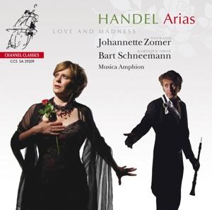 CD Shop - HANDEL, G.F. Arias - Love & Madness