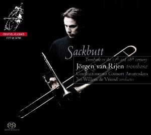 CD Shop - ALBRECHTSBERGER SACKBUTT