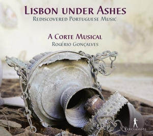 CD Shop - A CORTE MUSICAL LISBON UNDER ASHES