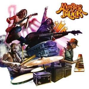 CD Shop - MONSTER TRUCK TRUE ROCKERS