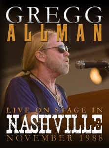 CD Shop - ALLMAN, GREGG LIVE ON STAGE IN NASHVILLE