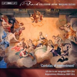 CD Shop - BACH, J.S. Cantatas of Contentment